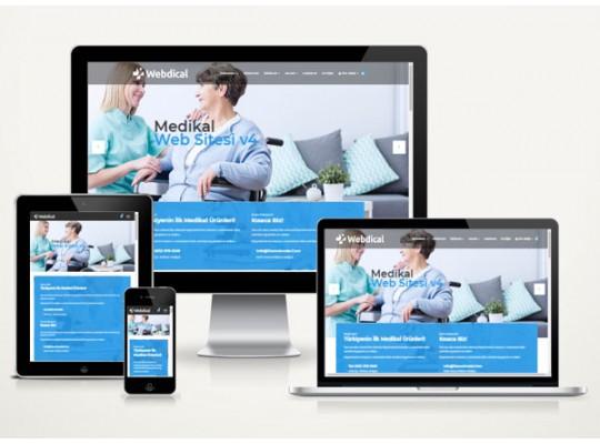 Medikal Web Sitesi Paketi Eternal v3.0